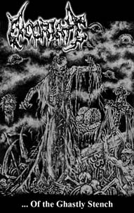 EXCORIATE (Chile) ... Of the ghastly stench Tape out now! Excoriate_cover