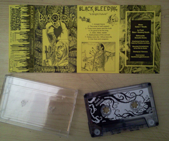 "BLACK BLEEDING: ""A Bright Future"" Tape out now! Black death Blackbleeding_phtoweb1"