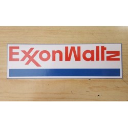 EXXON WALTZ - Sticker