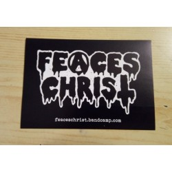 FEACES CHRIST (Ger) Sticker