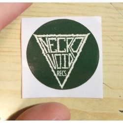 NECROVOID Recs - mini sticker