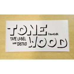 TONE WOOD Recs - Sticker -...