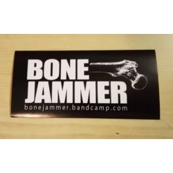 BONE JAMMER - Sticker - white...