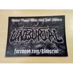 UNBURIAL - Sticker