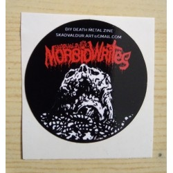 MORBID WRITES Zine - Mini sticker