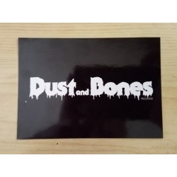 DUST AND BONES Records - Sticker