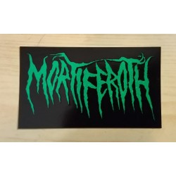 MORTIFEROTH - Sticker green
